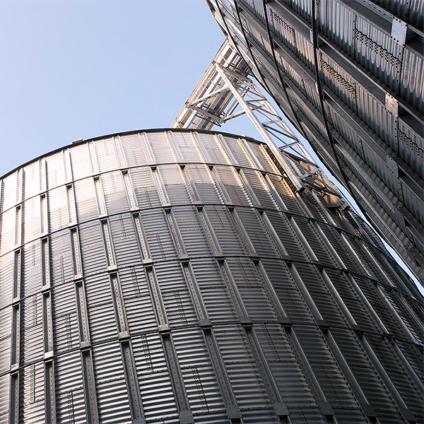 Mitigating storm damage with stronger grain bins