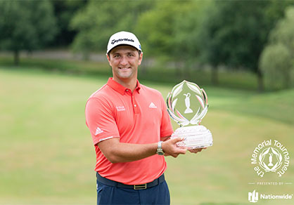 Jon Rahm 2020 Memorial Tournament Winner
