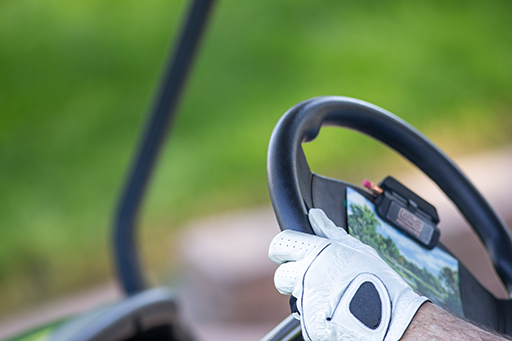 On-road liability coverage for golf carts