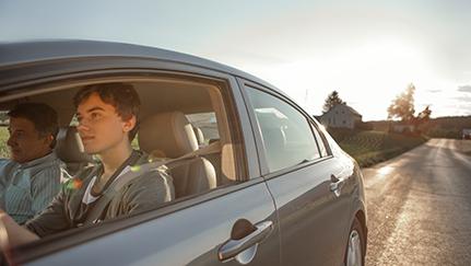 agregar un conductor adolescente