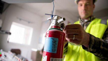 Seguridad de extintores de incendio