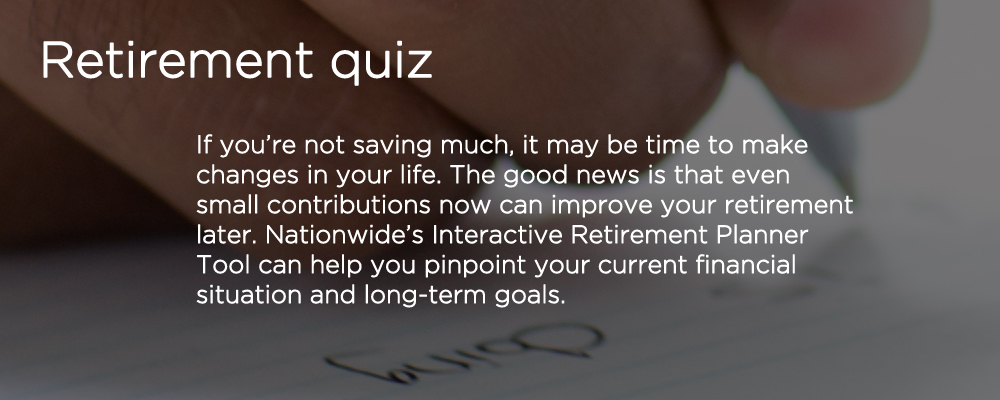 Retirement quiz