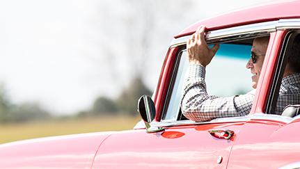 Unirse a un club de autos clásicos