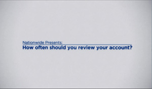How often should you review your account?