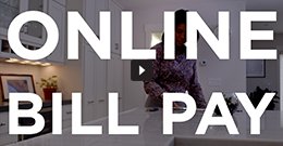 Online bill pay video