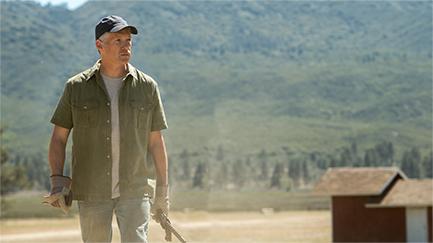 Granjero en el rancho